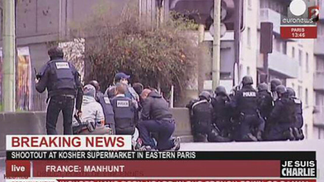 TRAGEDIE IN PARIS. Atacatorul si 4 ostatici, ucisi in asaltul de la supermarket. 4 oameni in stare grava, complicele a fugit - Imaginea 2