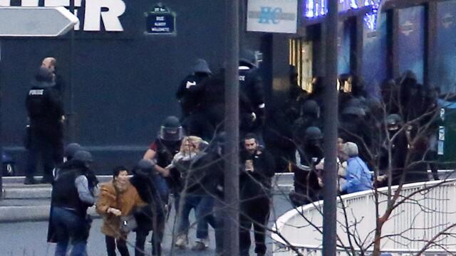 TRAGEDIE IN PARIS. Atacatorul si 4 ostatici, ucisi in asaltul de la supermarket. 4 oameni in stare grava, complicele a fugit - Imaginea 7