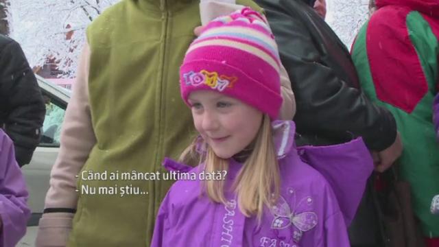 Nevoiasii din Cavnic si-au ridicat ajutoarele alimentare de la UE, care trebuiau sa vina de Craciun. Cat de mult ii ajuta