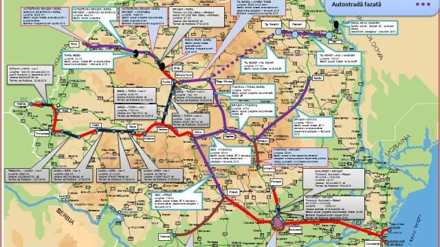 Autoritatile promit 250 km de autostrada in urmatorii doi ani. HARTILE oficiale cu traseul viitoarelor sosele din Romania - Imaginea 3