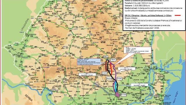 Autoritatile promit 250 km de autostrada in urmatorii doi ani. HARTILE oficiale cu traseul viitoarelor sosele din Romania - Imaginea 4