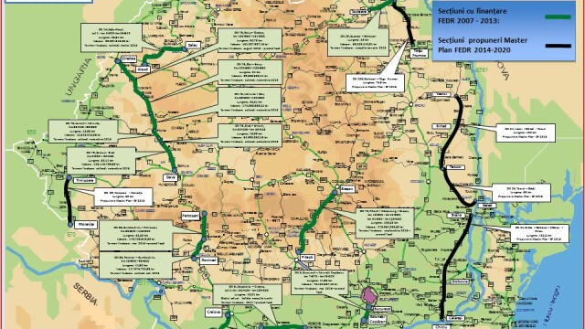 Autoritatile promit 250 km de autostrada in urmatorii doi ani. HARTILE oficiale cu traseul viitoarelor sosele din Romania - Imaginea 5