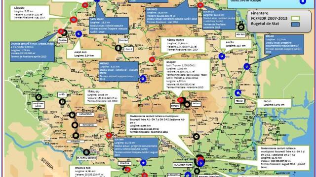 Autoritatile promit 250 km de autostrada in urmatorii doi ani. HARTILE oficiale cu traseul viitoarelor sosele din Romania - Imaginea 7