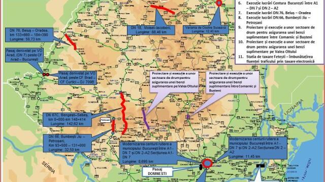 Autoritatile promit 250 km de autostrada in urmatorii doi ani. HARTILE oficiale cu traseul viitoarelor sosele din Romania - Imaginea 8