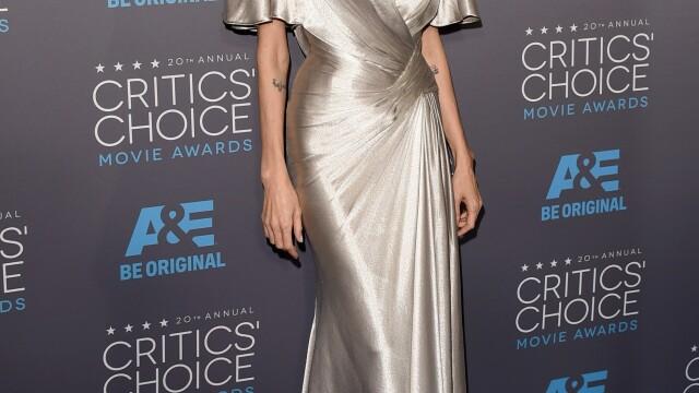 Angelina Jolie si-a eclipsat colegele de breasla la gala Critics Choice Movie Awards. Cum a aparut Jennifer Aniston. FOTO - Imaginea 2