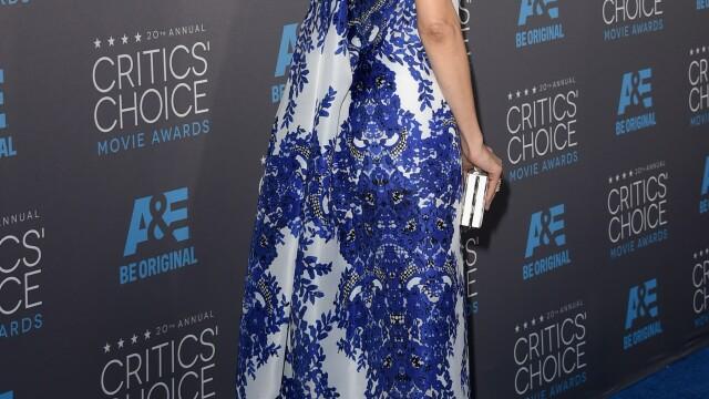Angelina Jolie si-a eclipsat colegele de breasla la gala Critics Choice Movie Awards. Cum a aparut Jennifer Aniston. FOTO - Imaginea 7
