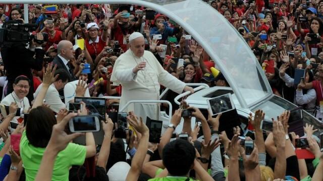 Guvernul din Filipine a ascuns sute de persoane fara adapost inainte de vizita Papei Francisc: \