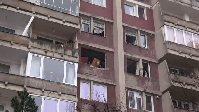 12 locuinte distruse de o explozie produsa intr-un apartament din Brasov. \