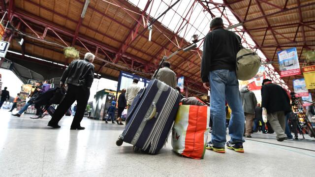 Gara de Nord are un nou sistem de depozitare a bagajelor. Cat te costa sa-ti lasi lucrurile timp de 12 ore