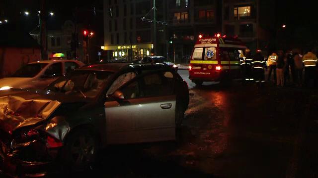 accident intersectie Timisoara