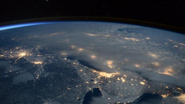 Viscolul istoric care a paralizat SUA, surprins din spatiu de astronautul american Scott Kelly