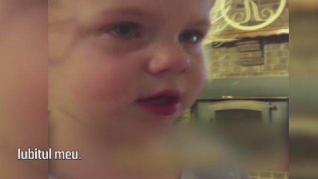 Reactia savuroasa a unei fetite cand tatal sau ii spune ca nu are voie sa aiba un iubit. VIDEO