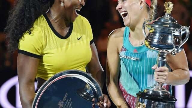 Angelique Kerber si Serena Williams