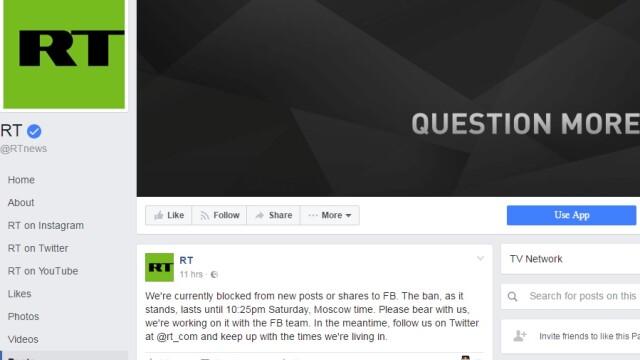 Russia Today Facebook