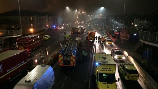 incendiu Londra