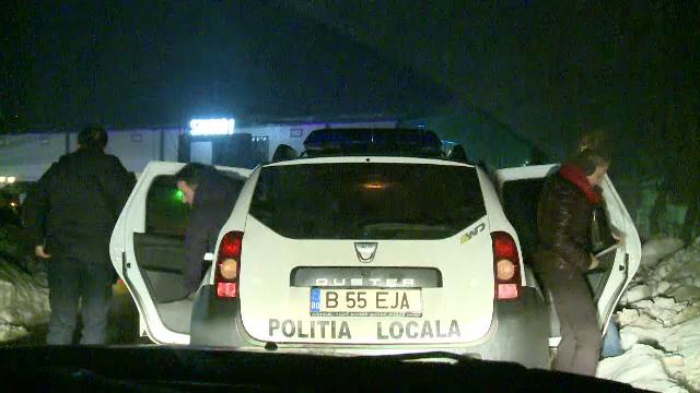 Ce a făcut un individ la un loc de joacă din București. După ce a fost surprins a lovit un polițist