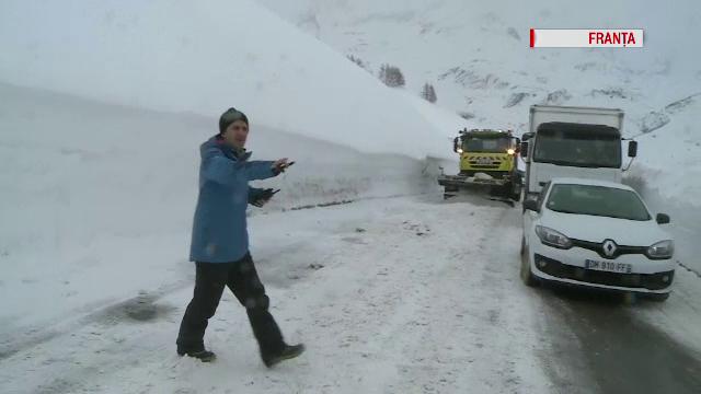 Iarna bate recorduri în Europa. În Alpii Francezi au fost ninsori fără precedent în ultimii 30 de ani