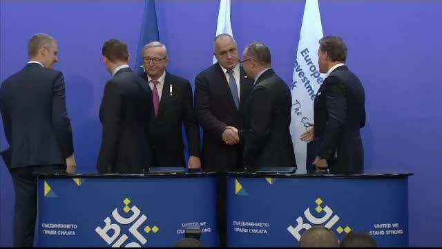 Boiko Borisov si liderii ue