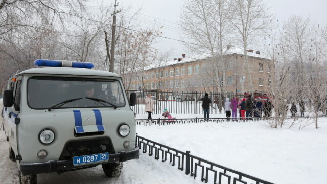 Atac scoala din Rusia