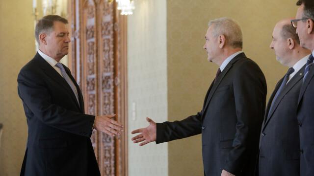 """Președintele Iohannis, despre Dragnea: """"Nu mai reprezintă un partener de discuție altfel decât strict instituțional"""""""