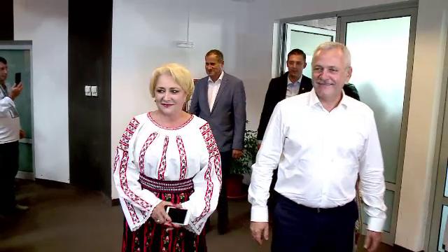 Vioricăi Dăncilă și Liviu Dragnea