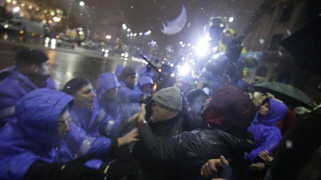 proteste bucuresti 20 ianuarie 2018, jandarmerie,