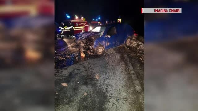 Doi copii și mama lor au murit într-un accident în Harghita. La volan era tatăl
