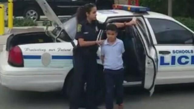 copil arestat sua