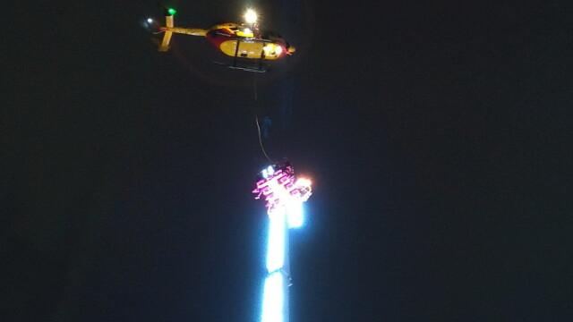 """8 persoane au petrecut Revelionul într-un carusel blocat la 50 m înălțime: """"Înfricoșător!"""""""