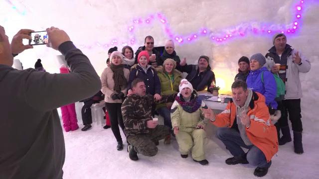 hotel de gheață Revelion