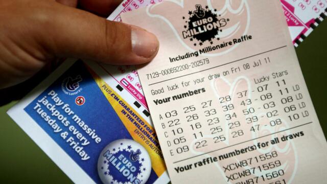 Suma fabuloasă pe care a câștigat-o un britanic la loterie, de Anul Nou
