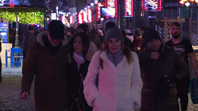 """Mii de străini, în România pentru Revelion: """"România este minunată, fete frumoase"""""""