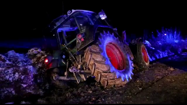 accident, bacau, tractor,