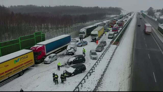 Accident in lant - Polonia