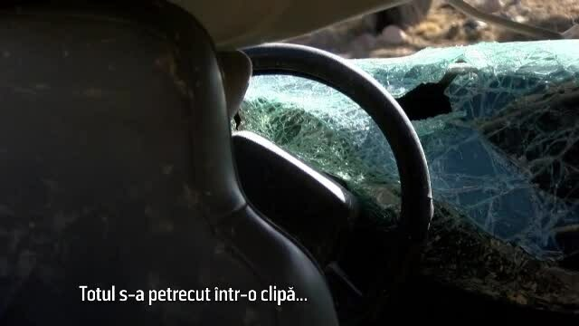 blocat in masina
