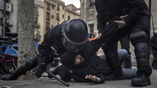 Operaţiune 'antiteroristă' la Barcelona.