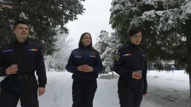Reacţia Jandarmeriei după ironiile la adresa clipului despre Eminescu. \