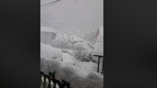 Probleme din cauza zăpezii în aproape toată țara. Zonele în care s-au închis școlile