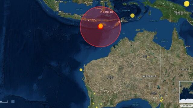 Cutremur cu magnitudinea 7.0 în Indonezia. Alerta de tsunami a fost ridicată