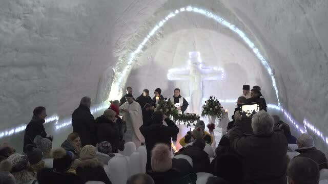 biserica balea lac