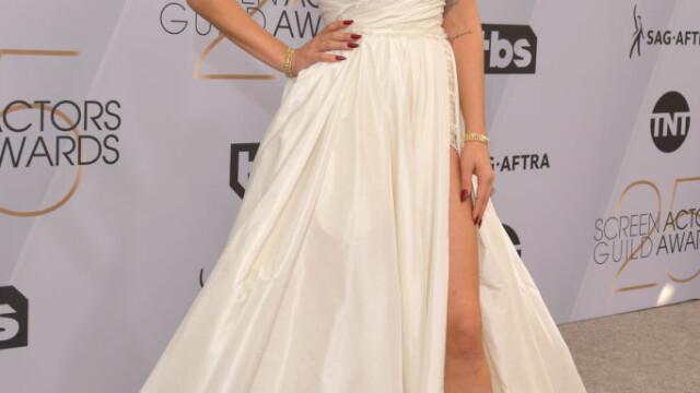 SAG Awards. Lady GaGa, cea mai frumoasă rochie de pe covorul roşu. Jane Fonda, impecabilă. FOTO - Imaginea 2