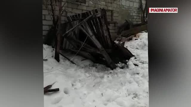 O femeie din Gorj a murit strivită, după ce o anexă s-a prăbușit peste ea