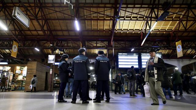 Anunțul Poliției legat de ameninţarea teroristă de la Otopeni şi Gara de Nord
