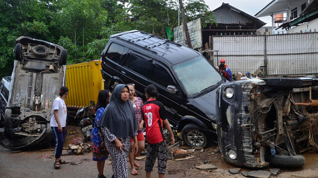 Inundații grave în Indonezia, în zona capitalei. Cel puțin 53 de persoane au murit - Imaginea 8