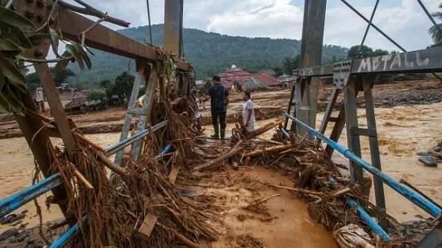 Inundații grave în Indonezia, în zona capitalei. Cel puțin 53 de persoane au murit - Imaginea 6