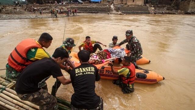 Inundații grave în Indonezia, în zona capitalei. Cel puțin 53 de persoane au murit - Imaginea 1