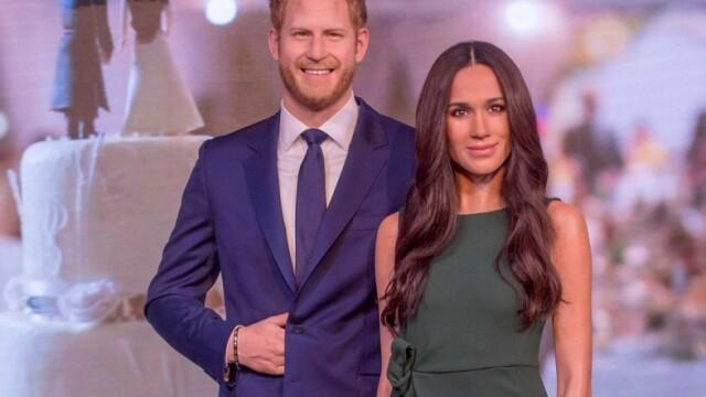 Ce s-a întâmplat cu figurile de ceară ale prințului Harry și soției lui, după anunțul făcut