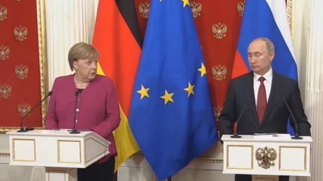 Merkel - Putin