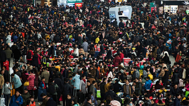 """A început """"cea mai mare migrație umană"""". Chinezii se întorc acasă de Anul Nou - Imaginea 8"""
