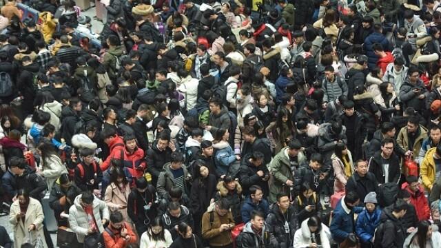 """A început """"cea mai mare migrație umană"""". Chinezii se întorc acasă de Anul Nou - Imaginea 6"""